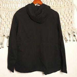 Love Tree Jackets & Coats - Love Tree black gold hardware hood utility jacket
